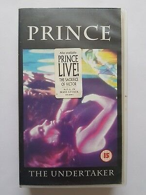 Prince The Undertaker Uk Pal Video (Never Released On Dvd)