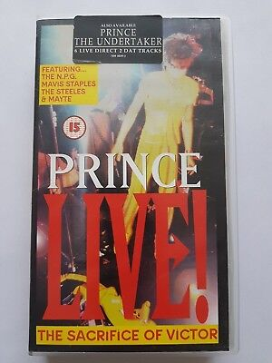 Prince Sacrifice Of Victor Uk Pal Video (Never Released On Dvd)
