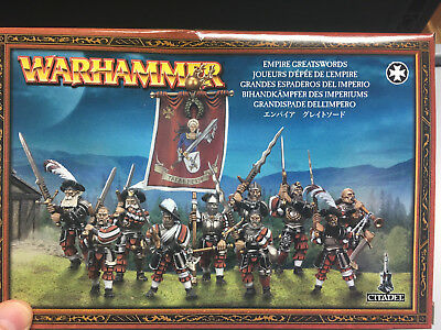 Freeguild Greatswords, Bihandkämpfer des Imperium, Warhammer, Games Workshop