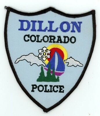 Dillon Colorado Co Police Colorful See Below For Great Deal