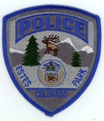 Estes Park Colorado Co Police Colorful See Below For Great Deal