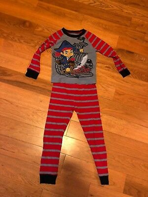 The Disney Store Jake and the Neverland Pirates 2 piece pajama size 4