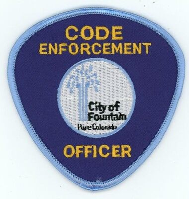 Fountain Code Enforcement Colorado Co Police Colorful See Below For Great Deal