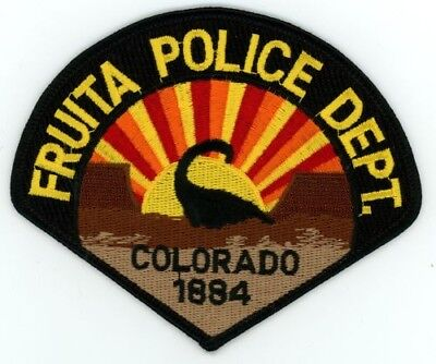 Fruita Colorado Co Police Colorful Style #2 See Below For Great Deal