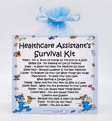 Unique Fun Novelty Gift /& Card All In One Deputy Manager Survival Kit
