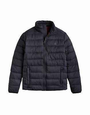 Joules Go To Lightweight Barrel Quilted Mens Jacket - Marine Navy All Sizes