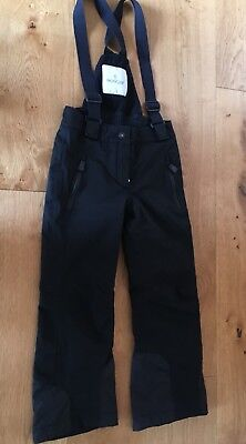 Child's 'Moncler' Black Ski Trousers, Age 6 Years