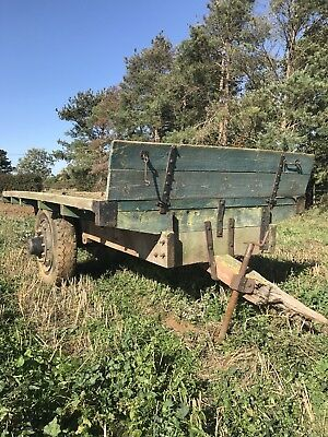 vintage agricultural machinery, Trailer, Timber Trailer
