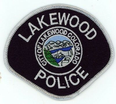Lakewood Colorado Co Police Colorful See Below For Great Deal