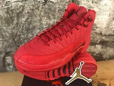 Air Jordan 12 Retro RED 153265-601 Gym Red Black GS BOYS YOUTH SZ 4-7  SHIPS NOW