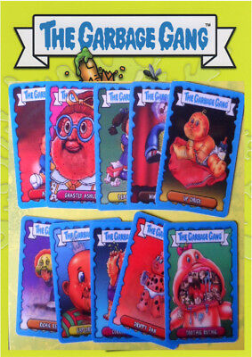 Topps Garbage Gang/garbage Pail Kids Lenticular Cards (Choose Your Card)2018
