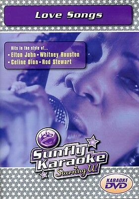 NEU/OVP: Sunfly Karaoke DVD: Love Songs Bryan Adams Elvis George Michael