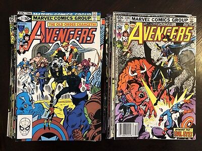 Avengers Bronze Age Lot Of 20!
