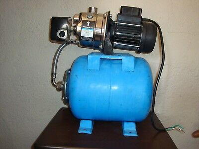 Pacific Hydrostar  120V 6 AMP Shallow Well Pump Stainless Steel Housing