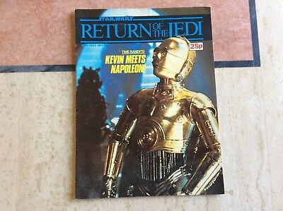 Star Wars  return of the Jedi ,No 34, Feb 8, 1984, UK Marvel Comic