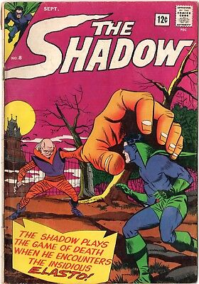 THE SHADOW #8 by Radio (Archie) Comics - Sep 1965 VG