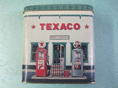 New Texaco Service Station Tin Bank