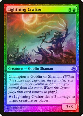 Sunflare Shaman NM 2X Foil MTG Morningtide