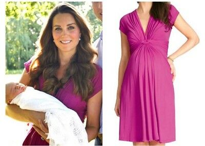 Seraphine Knot Front Maternity Dress Size 10