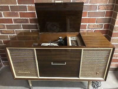 Philips Vintage Radiogram Model RF3 - Excellent Working Condition