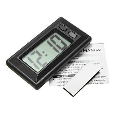 Led Mini Auto LCD Orologio Digitale Indicatore-Tempo Data Autouhr Digitale