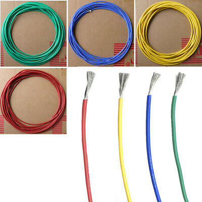 Flexible Silicone Rubber Wire High Temperature Resistant Cable 20-30AWG New Tren