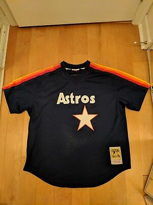c33585085 ... cheapest mitchell ness houston astros jeff bagwell bp jersey size 48  mlb baseball 67e18 a4a69