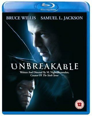 UNBREAKABLE [Blu-ray] (2000) M. Night Shyamalan, Bruce Willis, Samuel L. Jackson