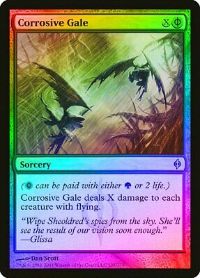 TRIUMPH OF THE HORDES New Phyrexia MTG Green Sorcery Unc