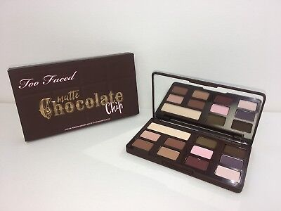 TOO FACED Matte Chocolate Chip Eyeshadow Palette limited edition BNIB