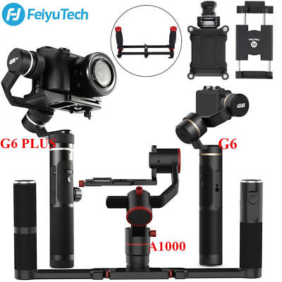 Feiyu A1000/G6/G6 PLUS Handheld Gimbal Stabilizer+Gimbal Phone Holder fr Camera