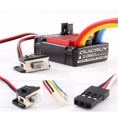 Hobbywing Quicrun Brushed Waterproof Motor ESC Controller 60A 1060 1//10 RC P7R6