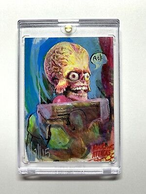 Mars Attacks Occupation Sketch by Charles Hall