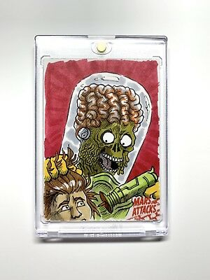 Mars Attacks Occupation Sketch by Rick Cortes