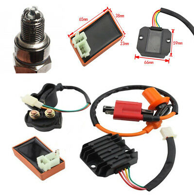 High Performance Racing Ignition Coil Spark Plug For 125cc 150cc Vertical Engine