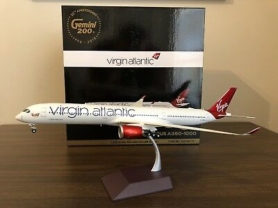 Gemini 200 1/200 Virgin Atlantic A350-1000 Diecast Model NEW