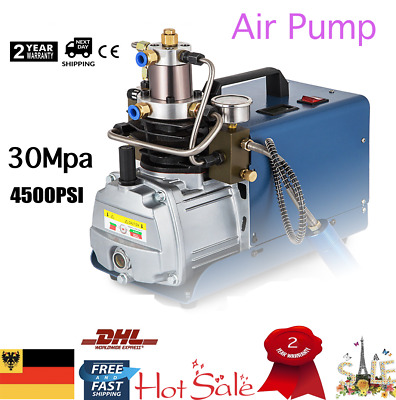 30MPa 4500PSI Air Compressor Pump PCP Electric High Pressure System Rifle 220V