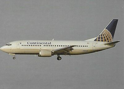 Continental Airlines (Usa) - Boeing 737-3T0 - N14325 - Postcard