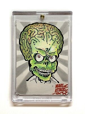 Mars Attacks Occupation Sketch by Keith Graham