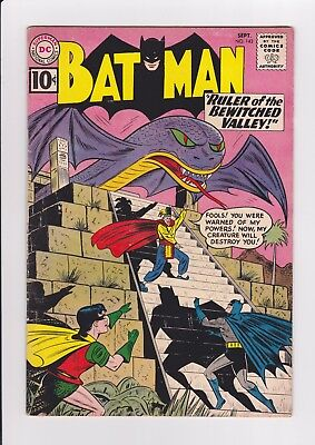 Batman #142, Sept. 1961, DC Comics, glossy and bright, 10 cent cover!