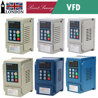 AC220/380V VFD Variable Frequency Drive Inverter CNC Motor Single Phase/3-Phase