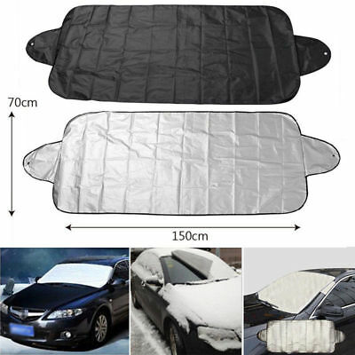 200x70cm Car SUV Snow Ice Sun Dust Magnetic Windshield Cover Protector Shield