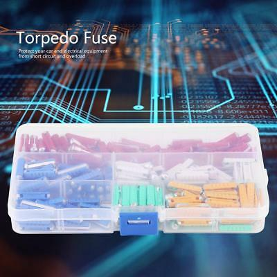 200Pcs Assorted Multicolor Torpedo Type Fuse 32V Old Style Classic Car Fuses UK