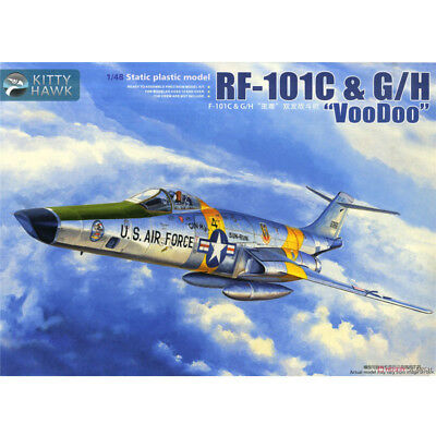 "Kitty Hawk 1/48 RF-101C & G/H ""Voodoo"" KH80116 new"