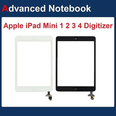 Replacement Digitizer Glass Screen For Apple iPad Mini 1 2 3 4 with Home Button