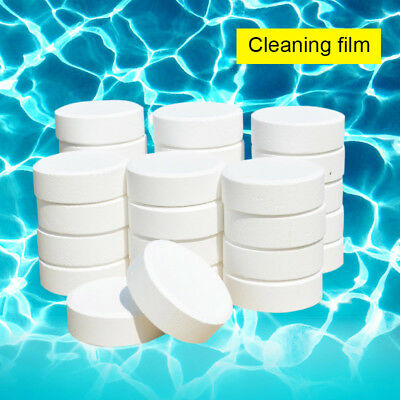 50pcs/20pcs 20g Swimming Pools Chlorine Tablets for SPA Hot Tubs Pool Cleaning
