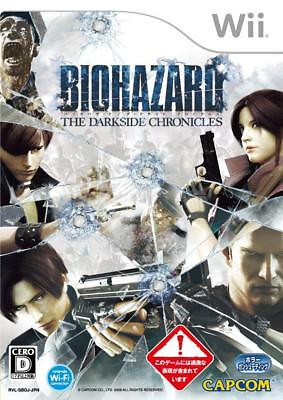 Used Wii Biohazard The Darkside Chronicles