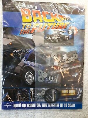 eaglemoss build the delorean