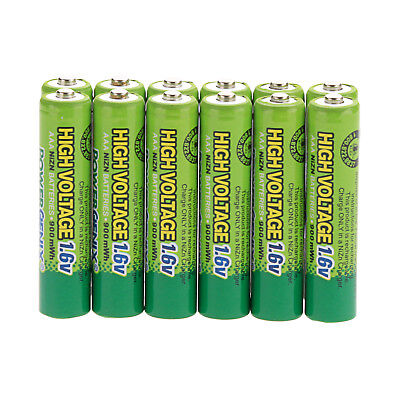 High Power 1.6V 900mWh Ni-Zn AAA Rechargeable Batteries For Toys,Lights Battery