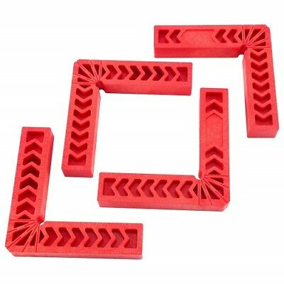 """Positioning Squares Woodworking Tool Clamping 90 Degree L Shape Angles 4PC 6"""""""